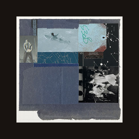 jim fitts mixed media collage